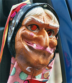 Die obligatorische böse Hexe