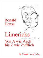 Ronald Henss: Limericks von  A wie Aach bis Z wie Zyfflich eBook Amazon Kindle